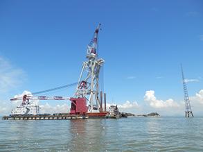 珠海桂山海上风电场风机基础试桩项目