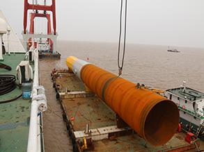 鲁能江苏东台200MW海上风电场项目