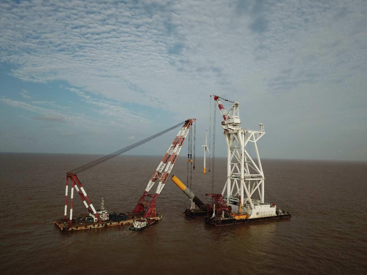 国电投滨海北区H2#400MW海上风电工程