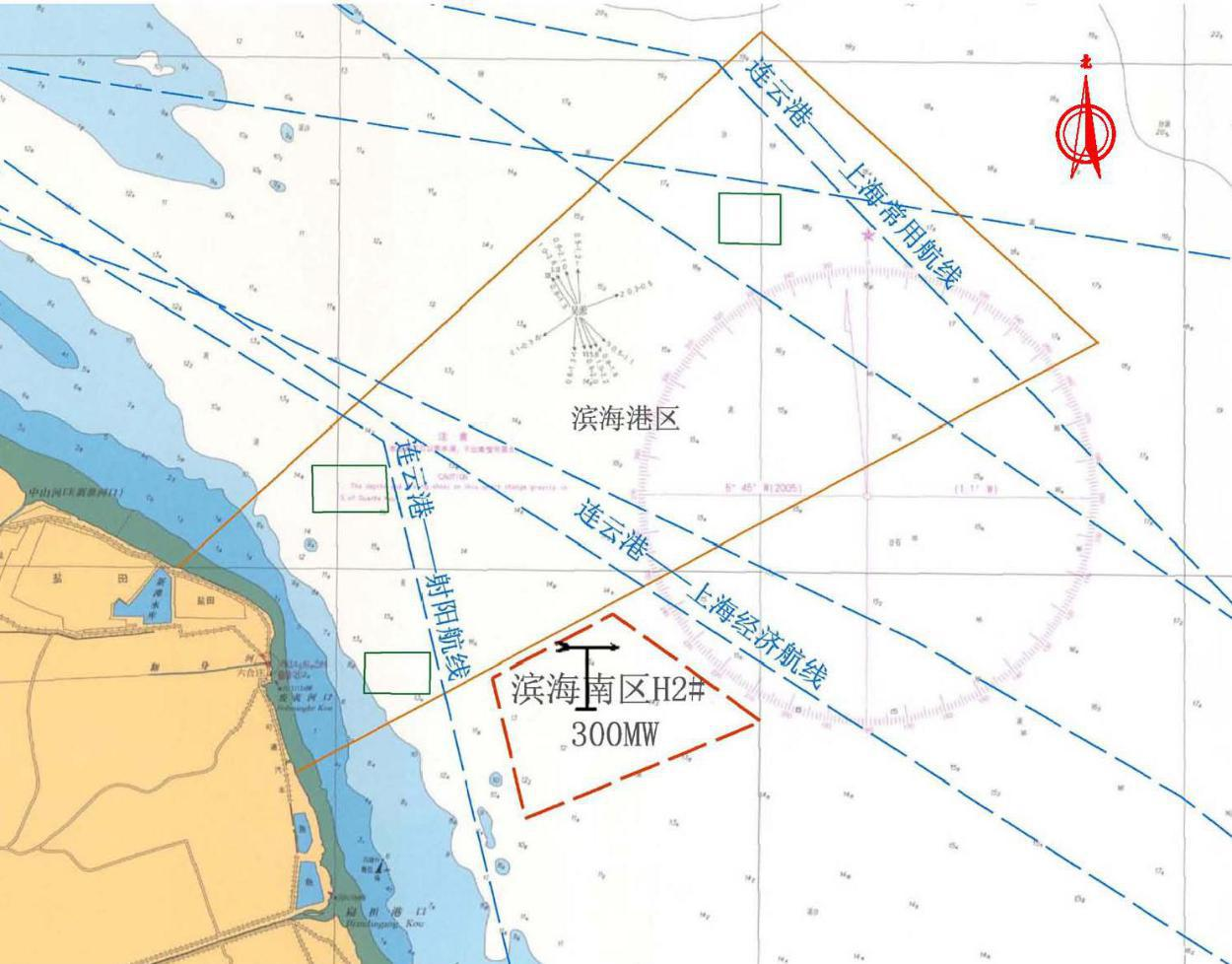 大唐江苏滨海300MW海上风电工程